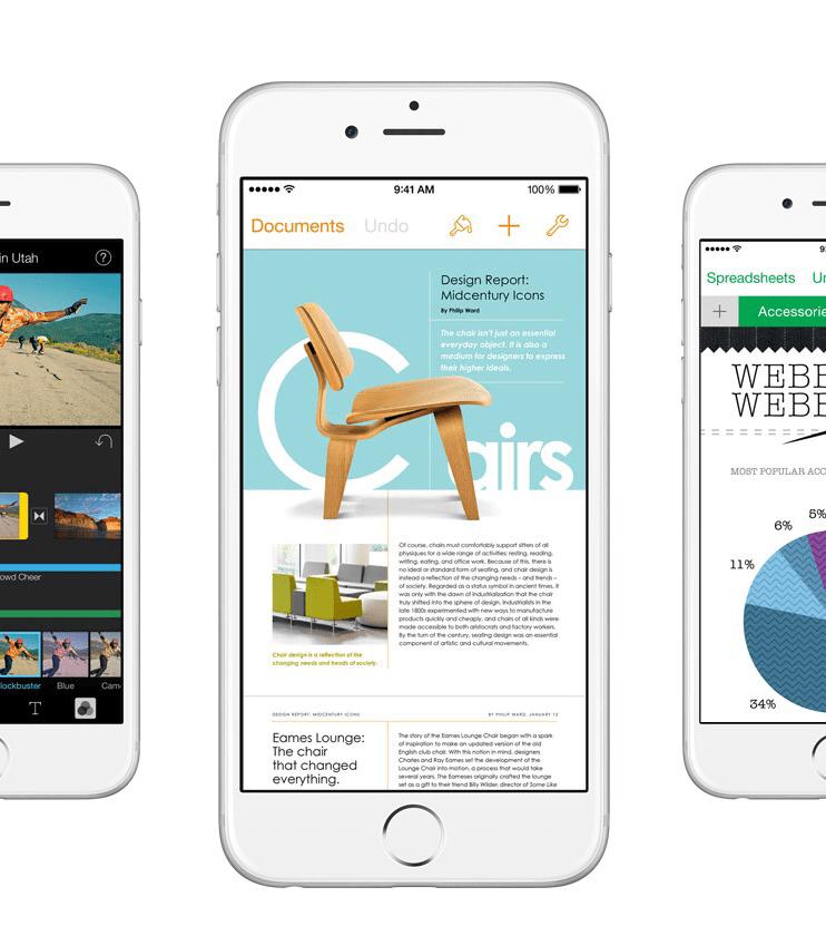 Apple, iOS ve OS X için Kendi Uygulamalarını Güncelledi