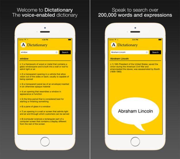 dictationary-uygulaması