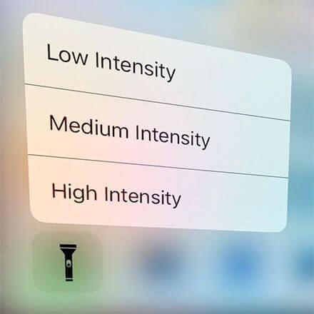 iOS 10 ile Fener Parlaklığı Ayarlama