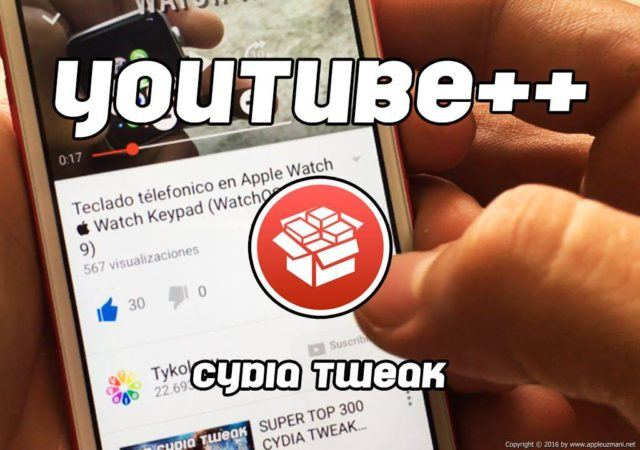 youtube ++ tweak