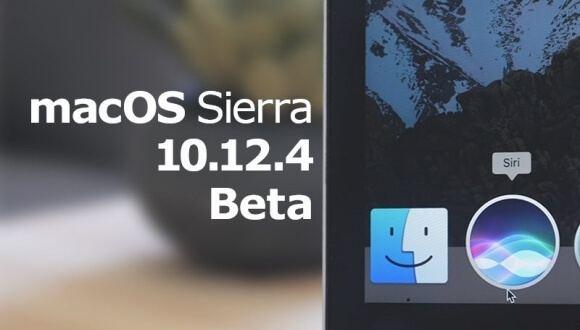MacOS Sierra 10.12.4 Beta