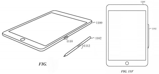 Apple Pencil 2 patent