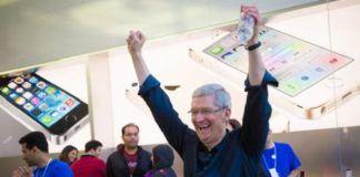 Apple gelirleri arttı