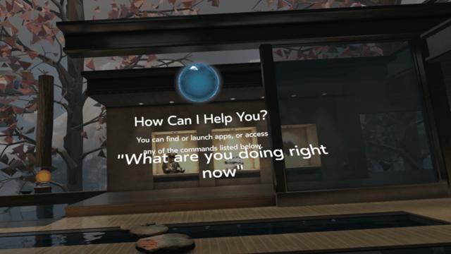 Oculus Rift Sesli Komut
