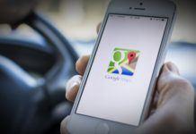 Google Maps iPhone park yeri özelliği