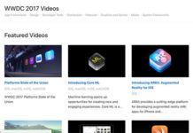 WWDC 2017 videoları