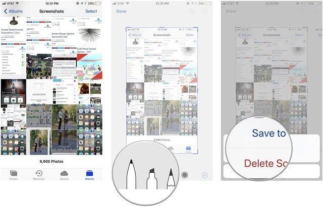 iOS 11 Ekran Görüntüsü Üzerinde İşaretleme Yapma