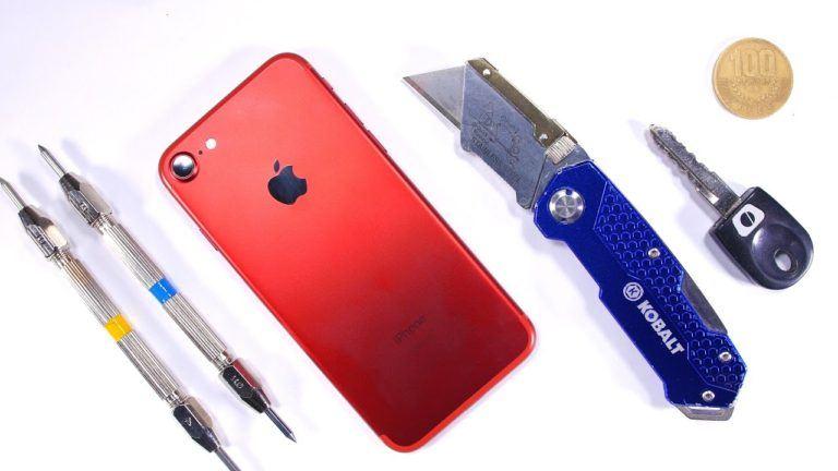 Sizce Kırmızı iPhone 7 Ne Kadar Dayanıklı Bir Seri?