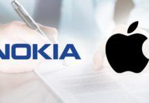 Apple ile Nokia
