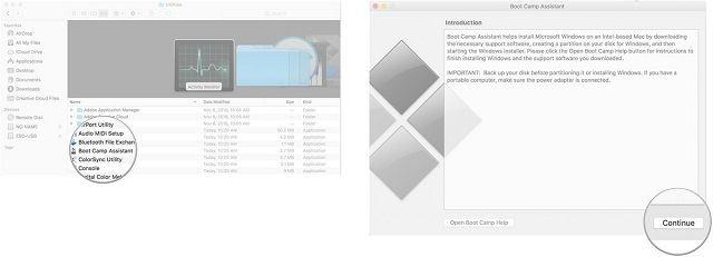 Mac'te Boot Camp ile Windows kurma