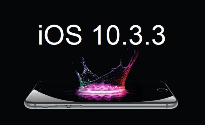 iPhone 6s iOS 10.3.3 imzaları