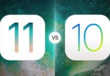 iOS 11 beta 8 vs iOS 10.3.3