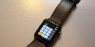 Apple Watch hesap makinesi uygulamasi
