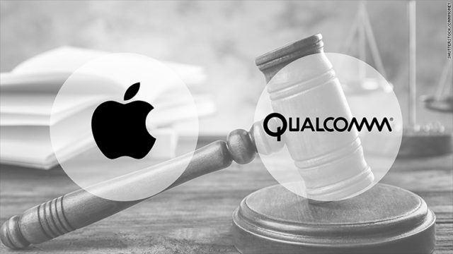 Qualcomm ile Apple