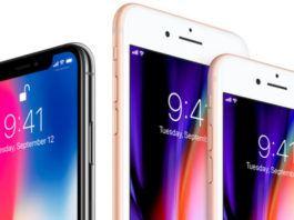 iPhone 8 ve iPhone 8 Plus iPhone X