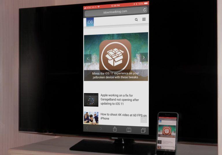 iPhone Samsung TV aktarma