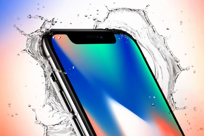iPhone X su gecirmezlik
