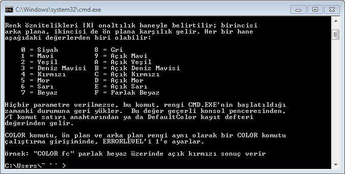 CMD Color Komutu