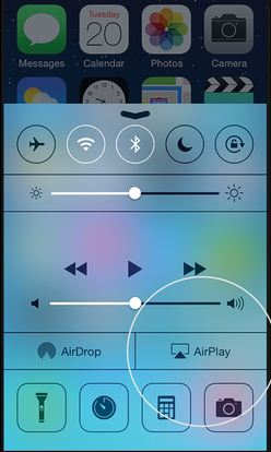 iPhone AirPlay kapatma
