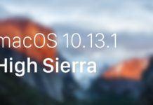 macOS High Sierra 10.13.1 ve tvOS 11.1