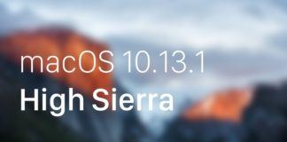macOS High Sierra 10.13.1 ve tvOS 11.1