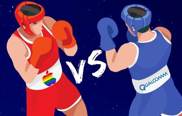 Apple ile Qualcomm