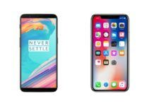 Oneplus 5T iphone X