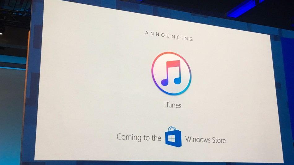 Windows Mağaza için iTunes