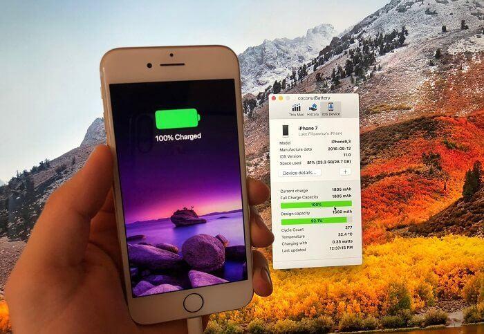 iPhone batarya sagligi
