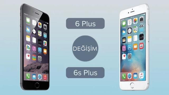 iPhone 6 Plus değişim