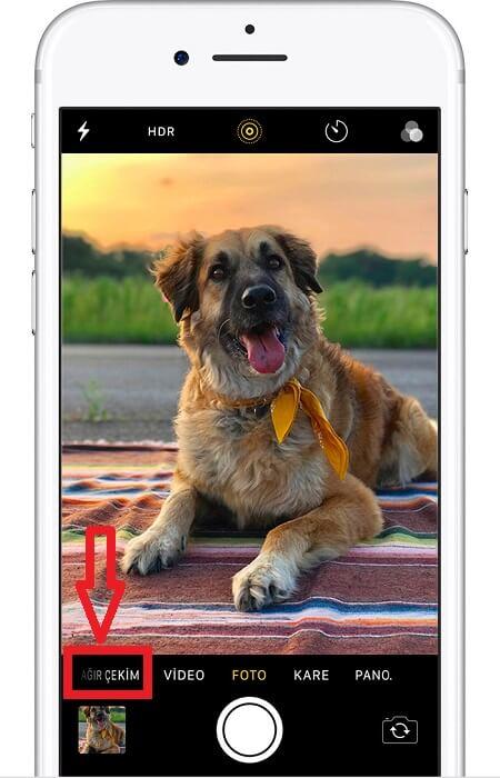 iPhone Ağır Çekim Modu