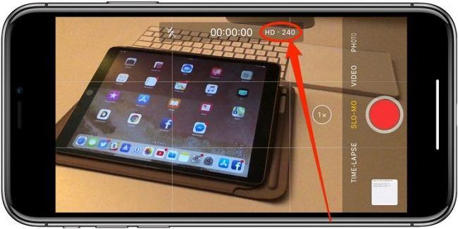 iPhone Ağır Çekim Video Çekme