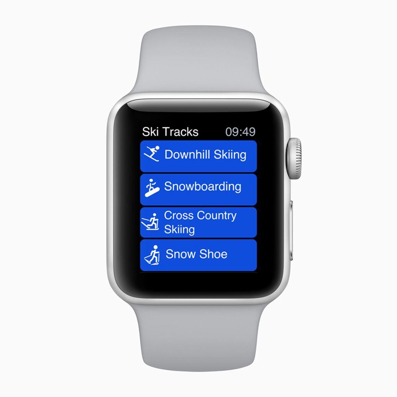 Apple Watch Kış Sporları