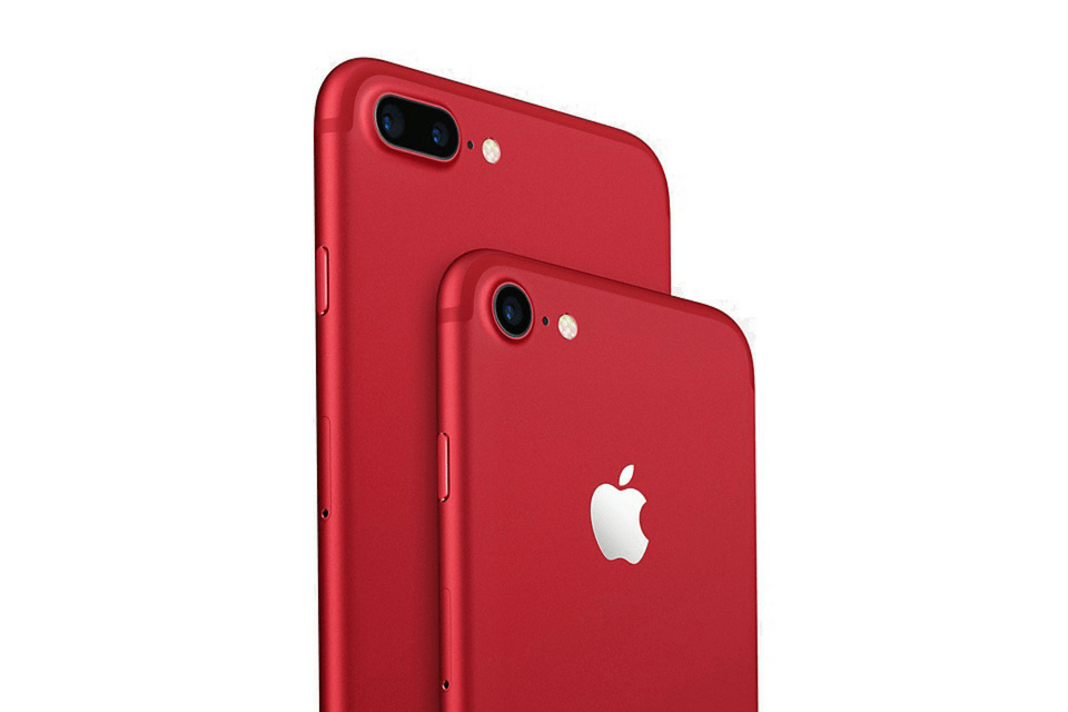 (PRODUCT) RED iPhone 8 ve iPhone X