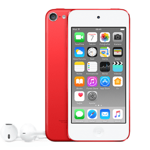 Product Red iPod Touch