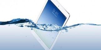 iPad Suya Düştü