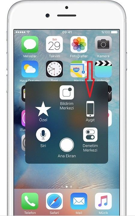 iPhone-Assistive-Touch-Ayarlar