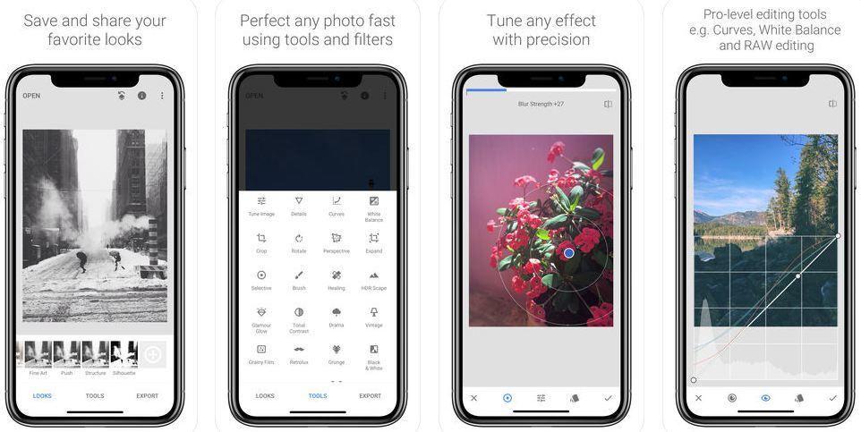 iPhone Fotoğraf Düzenleme Uygulaması