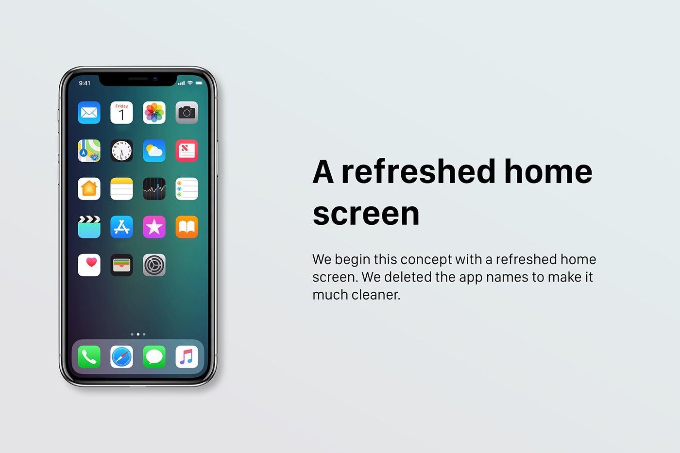 iOS 12 konsept