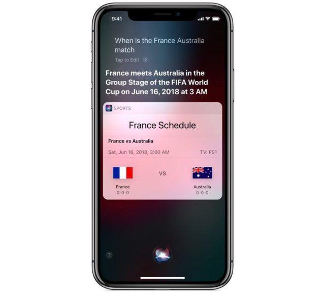 2018 Dünya Kupası Siri