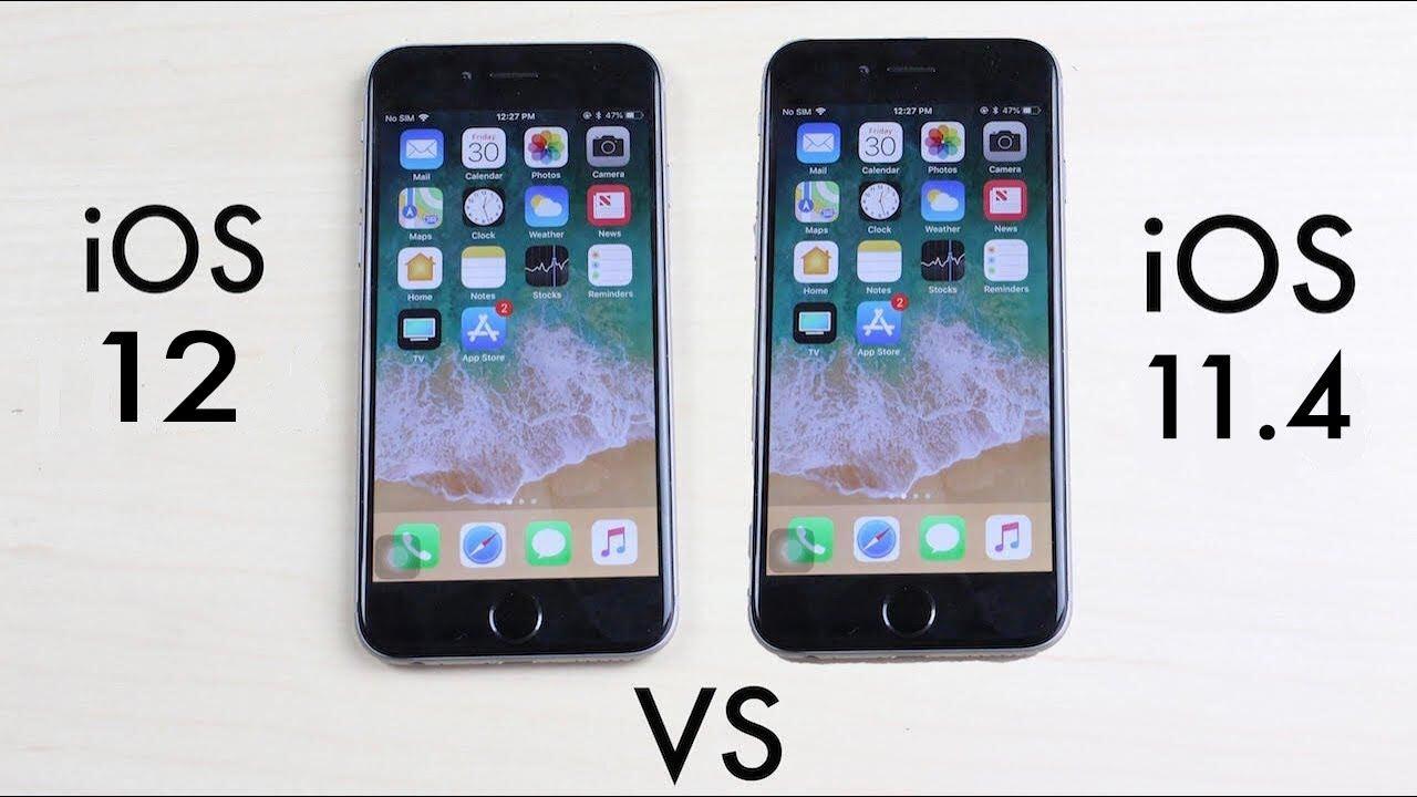 iOS 12 ve iOS 11.4