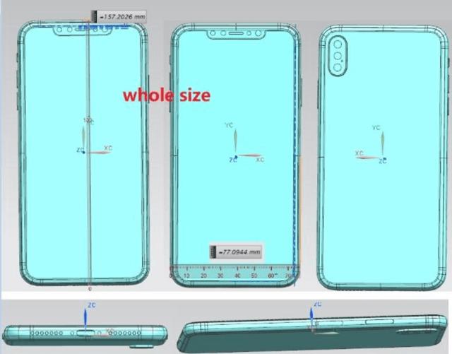 iPhone X (2018) ve iPhone X Plus