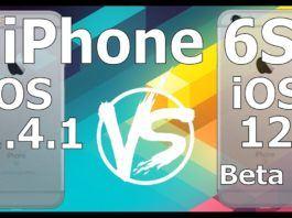 iOS 12 beta 8 ve iOS 11.4.1