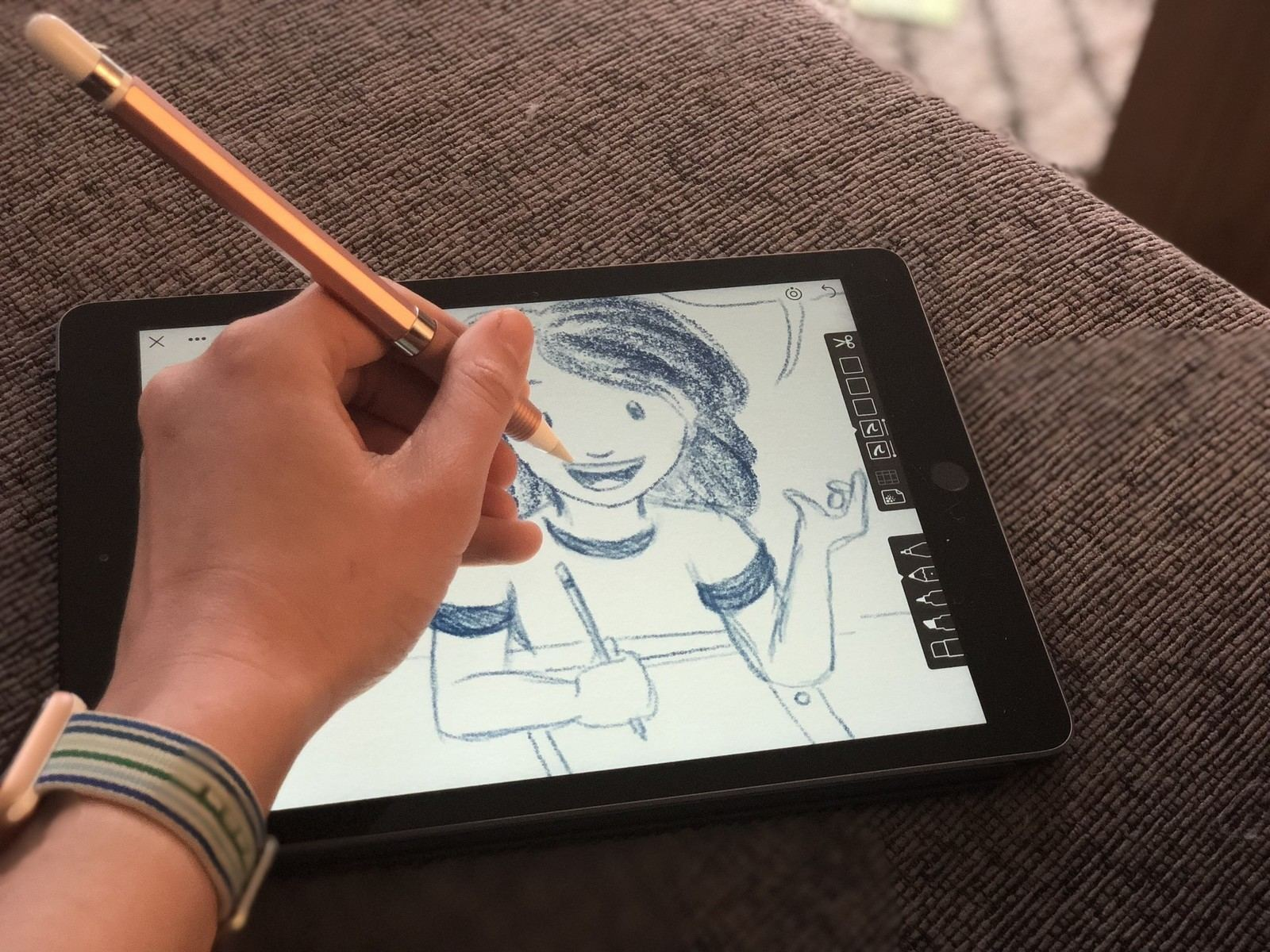 iPad ve Apple Pencil ile Çizim