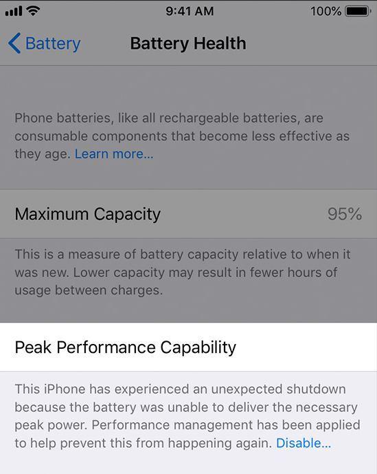 iPhone Hız Düşürme