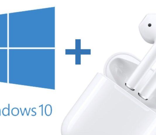 AirPods ile Windows 10