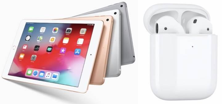 Yeni AirPods ve iPad