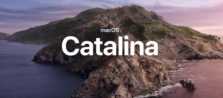 macOS Catalina 10.15 Final Sürümü Yayınlandı
