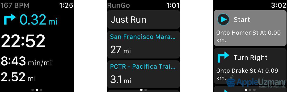 Siri Uyumlu Apple Watch Uygulamaları