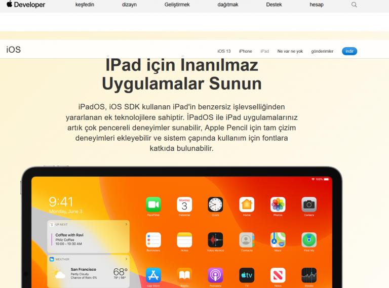 iPadOS Ne Zaman Çıkış Yapacak? İşte Türkiye Yayın Saati
